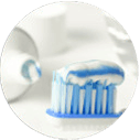 Image of Toothpaste in Toothbrush